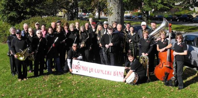 Dartmouth Concert Band 2016 (cropped)