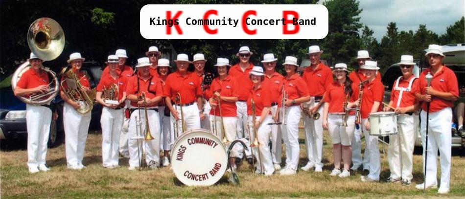 KingsCommunityConcertBand - group shot w logo