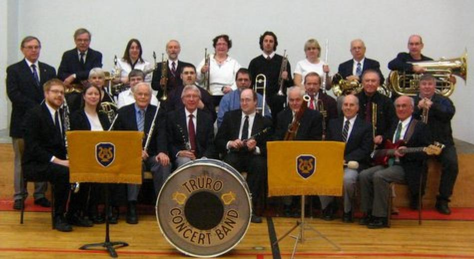 Truro Concert Band - group shot
