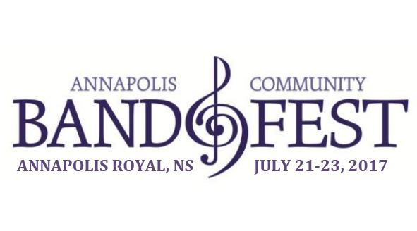 Annapolis Community BandFest July 21-23, 2017